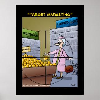 """""""Target Marketing"""" Poster"""