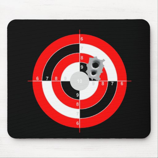 Target Practice Mouse Pad
