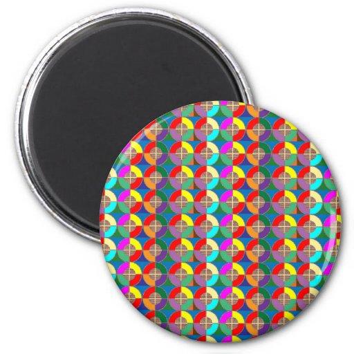 TARGET Practice Symbol Graphic Colorful ART Gifts Fridge Magnet
