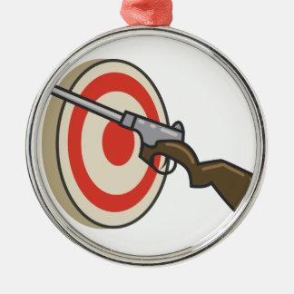 Target Shoot Christmas Ornament