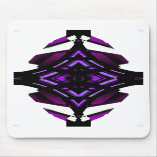 Target Style Magenta Urban Futurism Design Mouse Pad