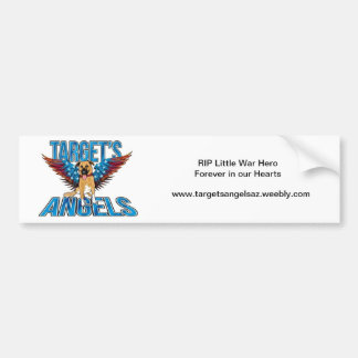 Target's Angels Bumper Sticker