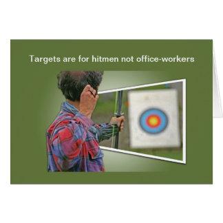 Targets card