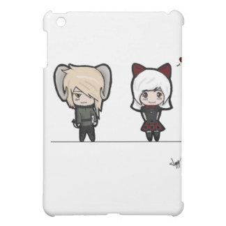 Tarin and Ishi chibis iPad Mini Covers