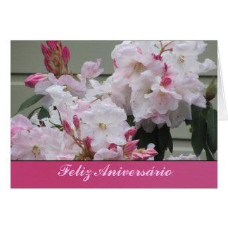 Tarjeta Feliz Aniversário Greeting Card