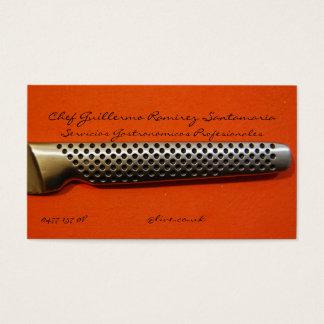 Tarjetas de Presentacion CHEF Business Card