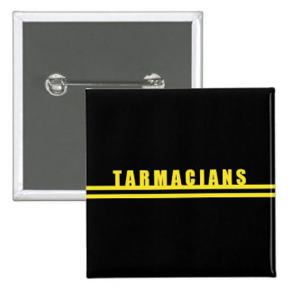 Tarmacians Double Yellow Lines Badge Pin