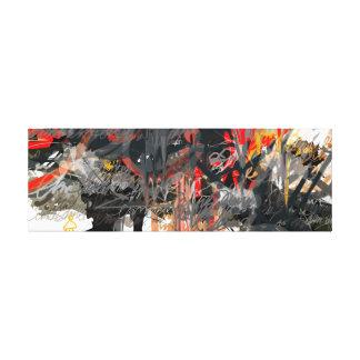tarns color canvas print