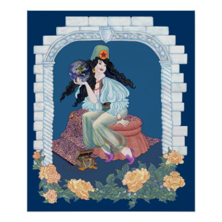 Tarot Ace of Coins/Pentacles Posters