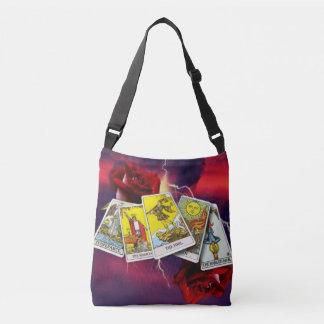Tarot card cross body bag