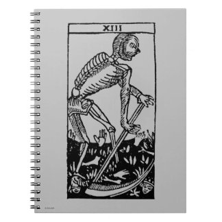Tarot Card: Death Spiral Note Books