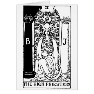 tarot card 'high priestess'