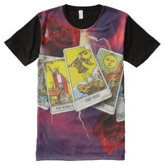 Tarot card panel t shirt