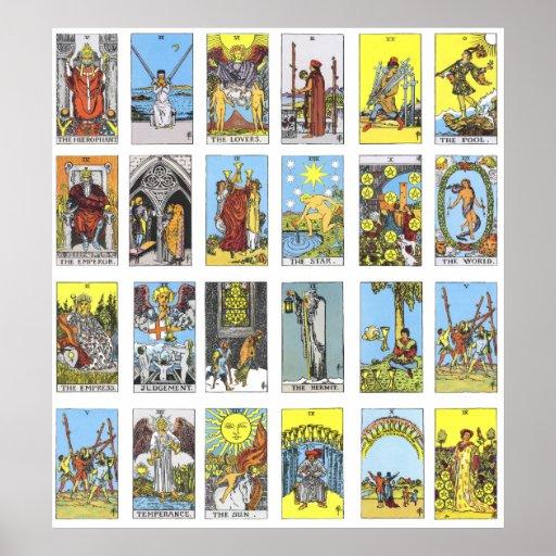 Tarot Card Print