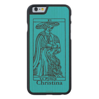Tarot Card: Strength Carved Maple iPhone 6 Case