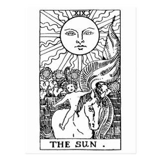 tarot card 'Sun'