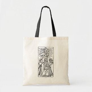 Tarot Card: The Lovers Tote Bag