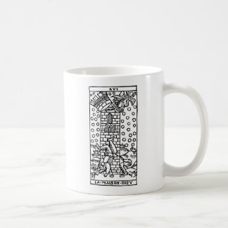 Tarot Card: The Madhouse Coffee Mug