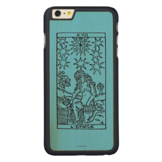 Tarot Card: The Stars Carved Maple iPhone 6 Plus Case