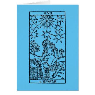 Tarot Card: The Stars Note Card
