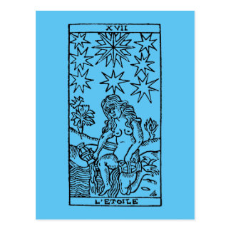 Tarot Card: The Stars Postcard