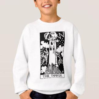 Tarot card 'tower' sweatshirt