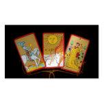 Tarot Cards (2) Business Card Template