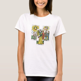 Tarot Cards Lovers Sun Temperance Devil T-Shirt