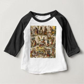 Tarot cards pattern baby T-Shirt
