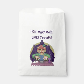 TAROT CAT CARTOON  bag White Favor 2