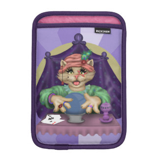 TAROT CAT CARTOON iPad Mini iPad Mini Sleeve