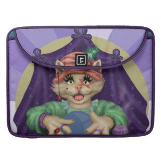"TAROT CAT  Rickshaw Macbook PRO Sleeve 15 """