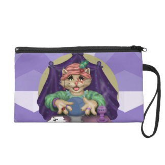 TAROT CAT Wristlet Bag