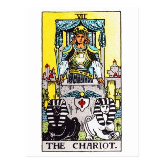 tarot-chariot postcard