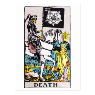 tarot-death postcard