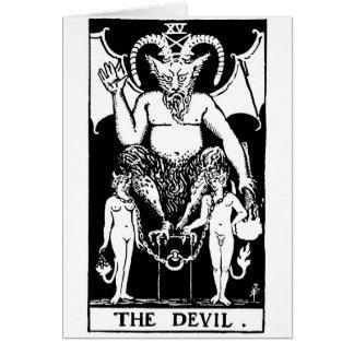 Tarot 'devil' card