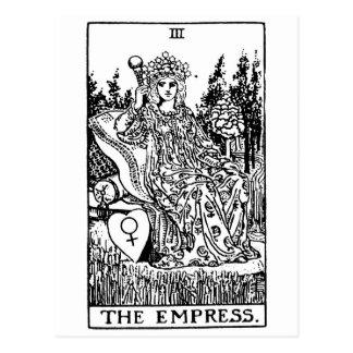 Tarot  'empress' postcard