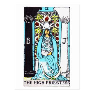 tarot-highpriestess postcard