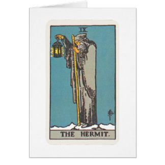 Tarot of the Eremit The Hermit Card