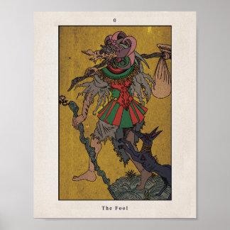 """Tarot Poster: The Fool/tarot poster """"foolish"""