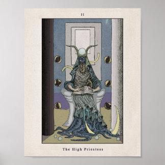 Tarot Poster: The High Priestess/tarot poster