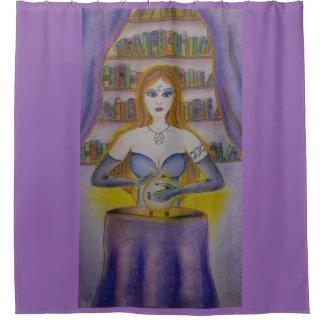 Tarot Reader Shower Curtain