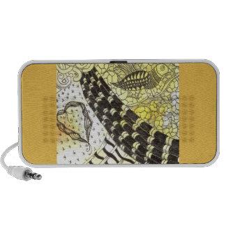 Tarot Symbol Bird Travelling Speakers
