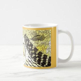 Tarot Symbol Bird with Inspirational Text Basic White Mug