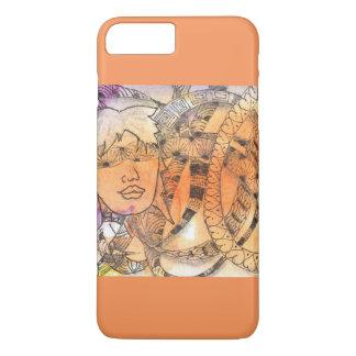 Tarot Symbol Blindfold iPhone 7 Plus Case
