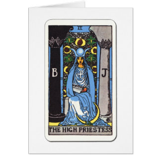 Tarot the high priest The High Priestess Card