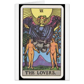 Tarot: The Lovers Greeting Card