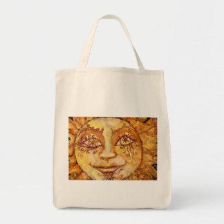 Tarot the Sun Grocery Bag
