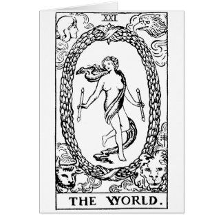 Tarot 'The worl'd Card
