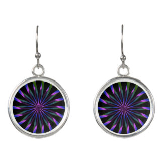 Tarot Wheel Earrings